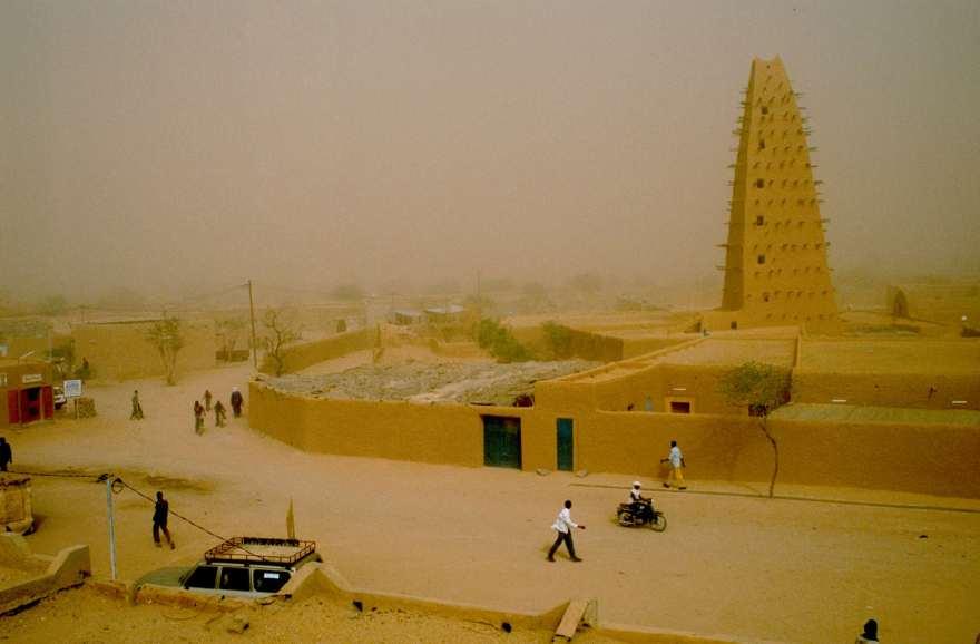 Mosque in Agadez